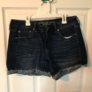 American Eagle stretch denim shorts